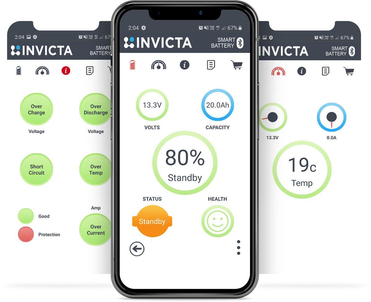 Invicta Bluetooth Application
